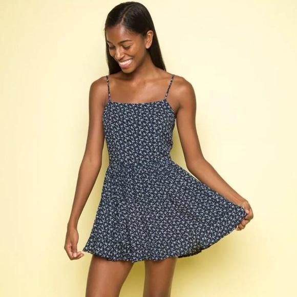 25d746c757ba Brandy Melville Dresses   Skirts - Brandy Melville Floral Brooke Tie Back  Dress